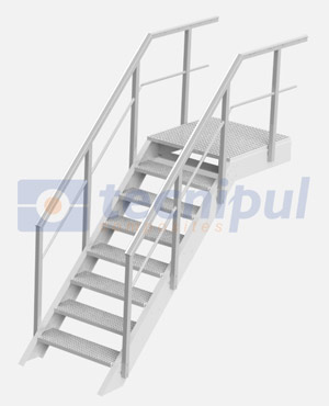 Escaleras prfv tecnipul composites for Normativa escaleras